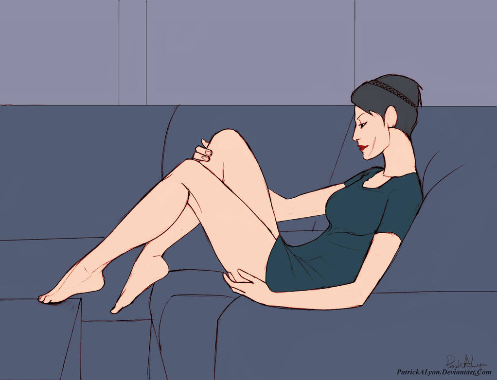 Cassandra Pentaghast Relaxing
