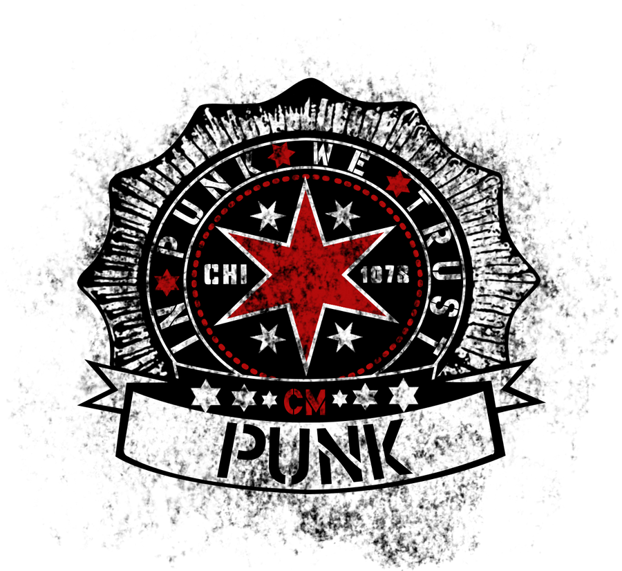 Cm Punk Logo By Ookamihun On Deviantart