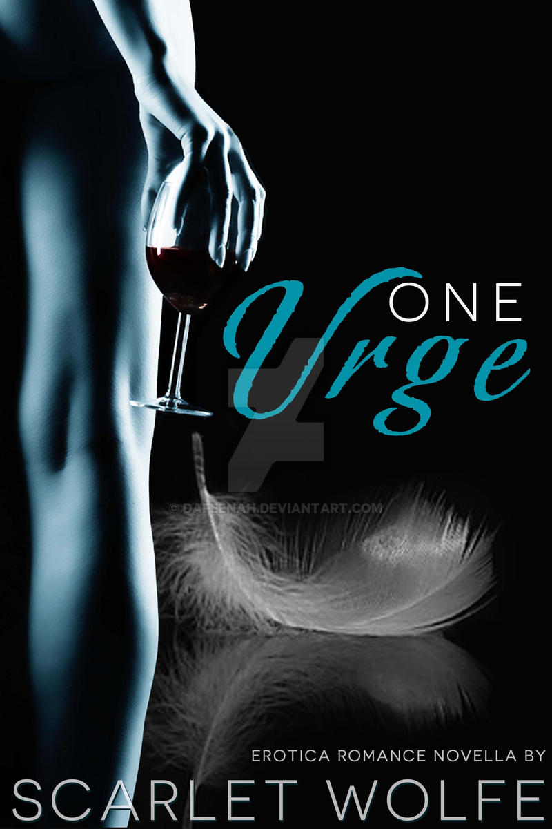Erotic Romance Ebook Cover: One Urge by Dafeenah