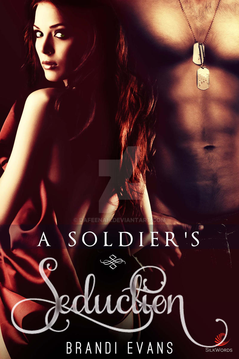 Erotica Ebook Cover: A Solider's Seduction by Dafeenah