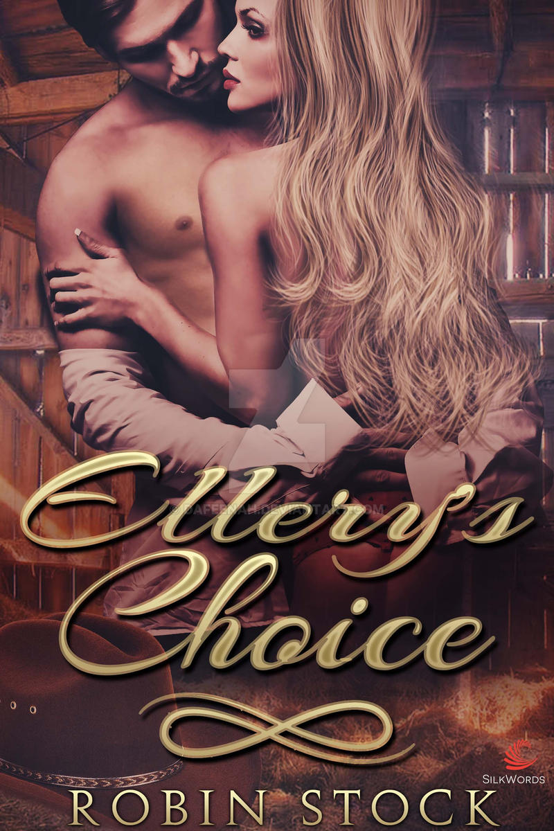 Western Romance Ebook Cover: Ellery's Choice by Dafeenah