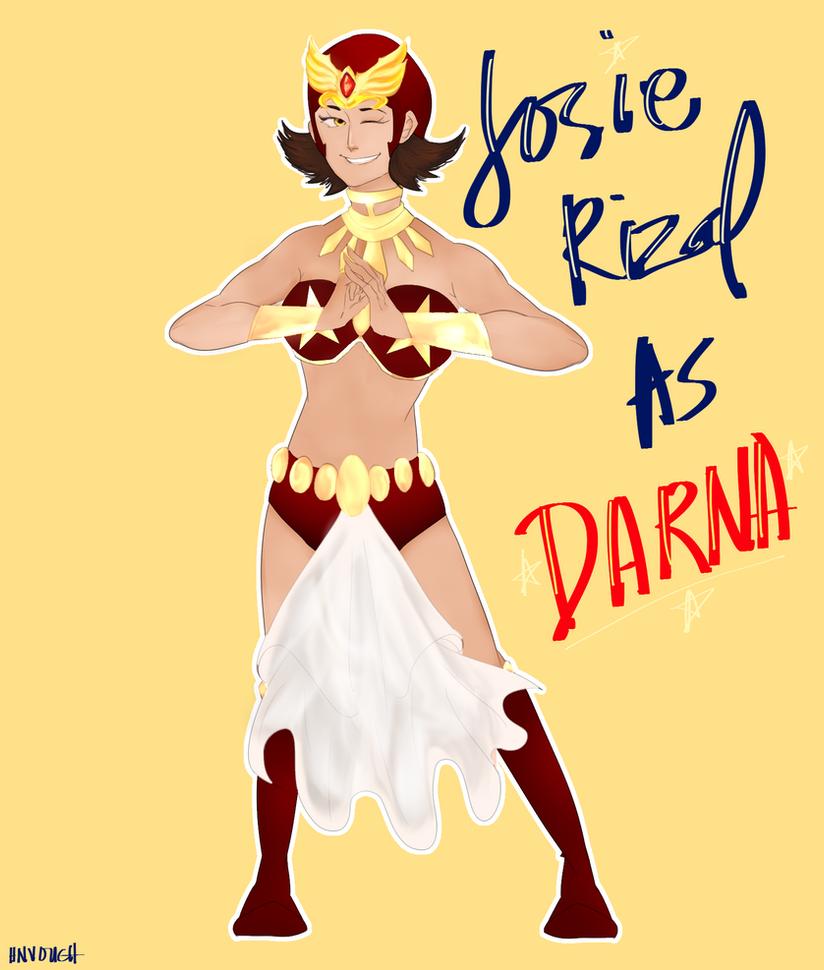 Josie Rizal as Darna by HN-Vouch