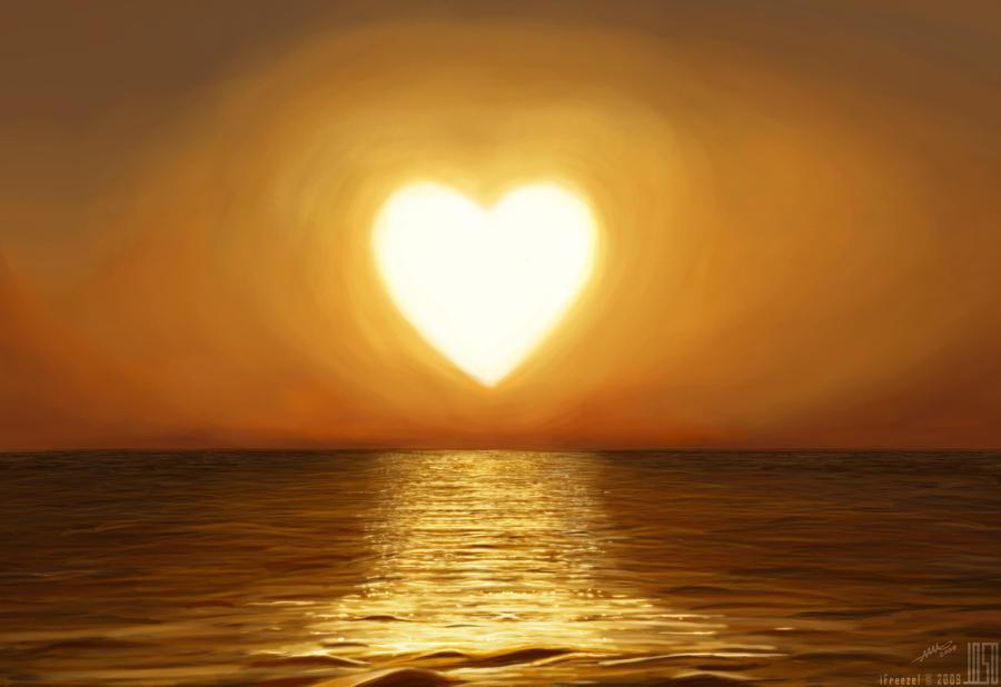 Heart Shaped Sun