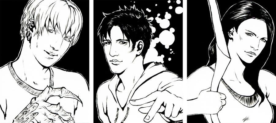 marvel:  trio 1 by DragonDream08