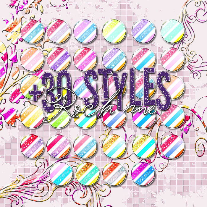 Rock Me Styles Glitter. by NessiePalomitas