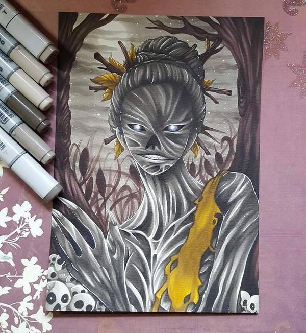 The Hag by Valhari-Art