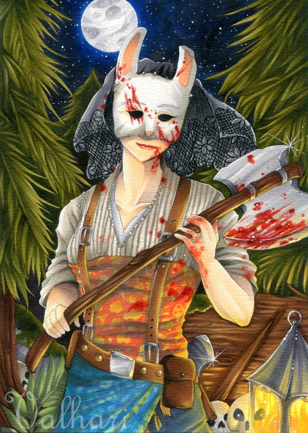 The Huntress by Valhari-Art
