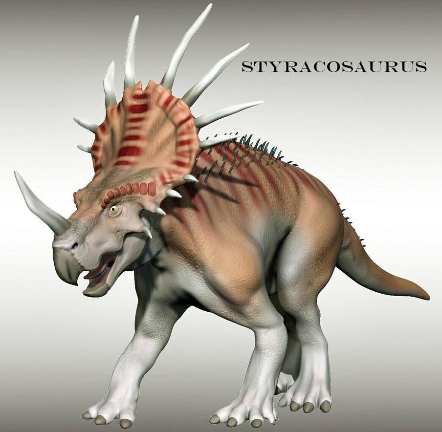 Styracosaurus  by craigabbott3d