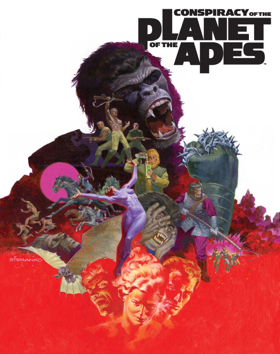 Conspiracy Apes by blamventures