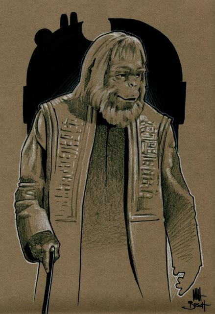 Dr. Zaius by blamventures