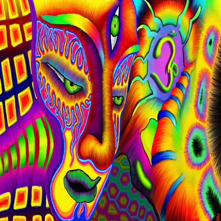 Three Eyed Goddess by TechBehr
