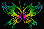 Tribal Butterfly Design