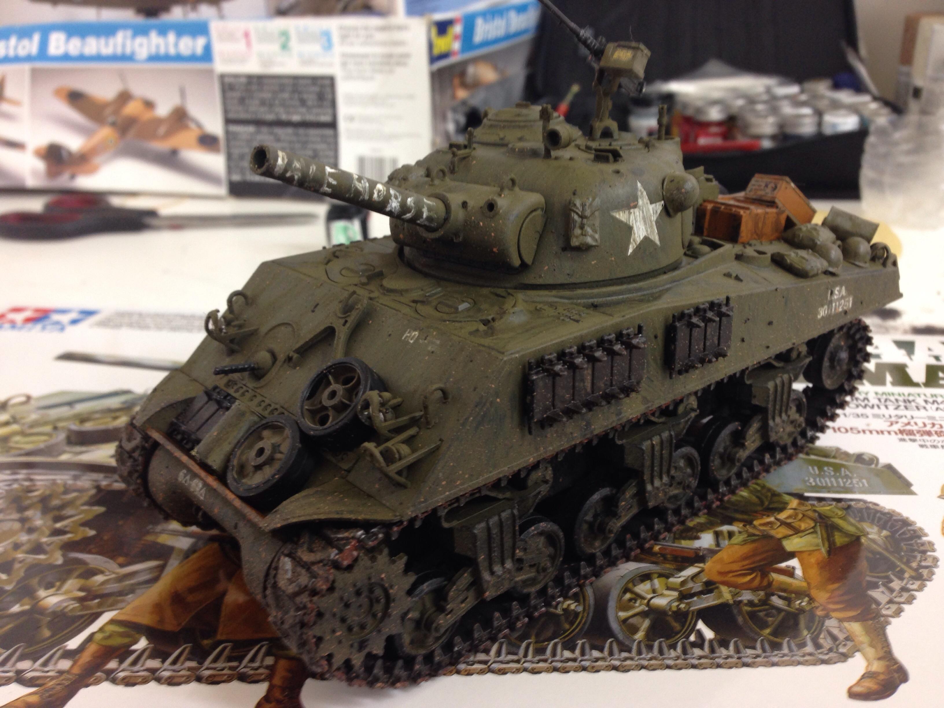 M4A3E8 Sherman 1/35 scale model by Devastator259 on DeviantArt