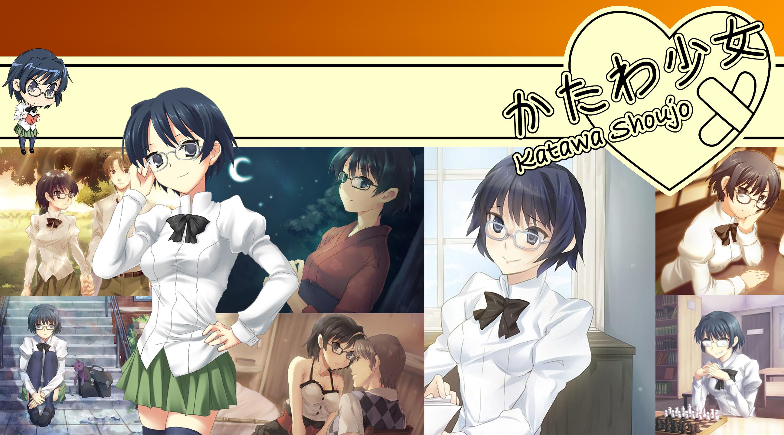 katawa shoujo wallpaper shizune by animeanalyst on deviantart