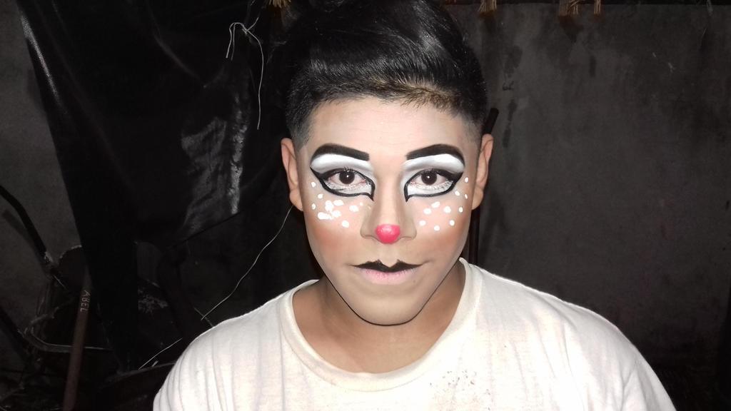 Reindeer Makeup - Unedited By RyanReta On DeviantArt