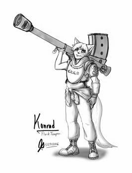Konrad: Flack Trooper (RA2 W.I.P. pt1)
