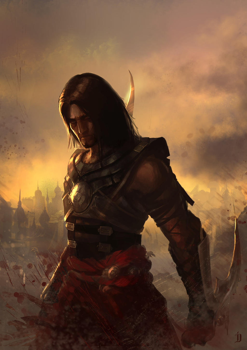 prince of persia fan artcatalinianos on deviantart