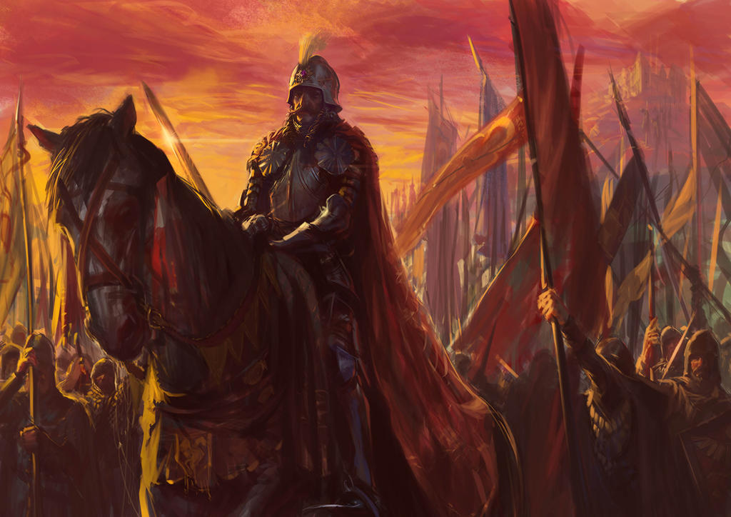 Vlad the Impaler ,leading his army by catalinianos