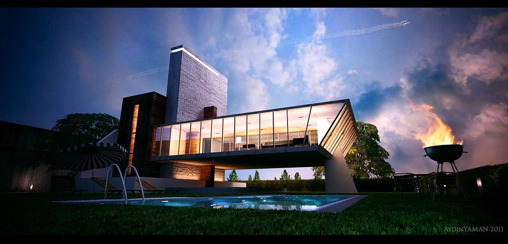 House Idea by AydinYAMAN
