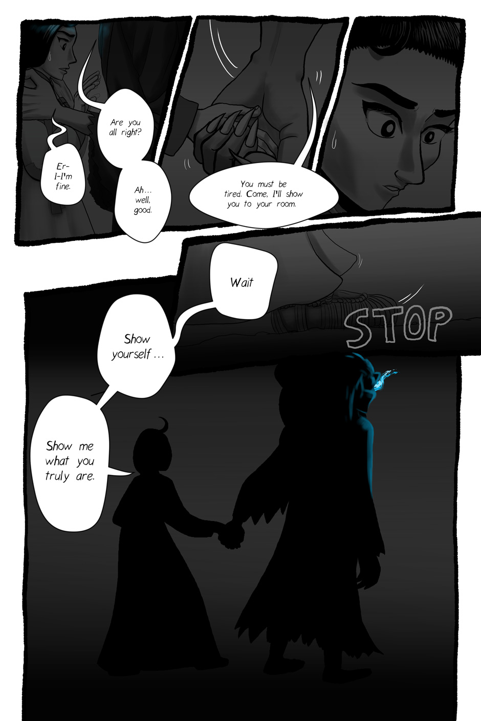 Blue Fire: Ch 2 Pg 10 by InYuJi