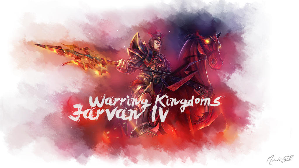 Warring Kingdoms Jarvan IV Wallpaper 1366x768 by morbitz18 ...