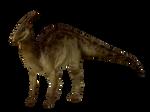 JP Parasaurolophus (Carnivores skin)