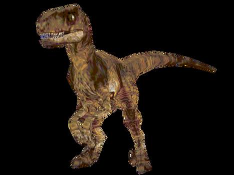 Velociraptor (E3 98 demo Texture) by Drifter-Dx