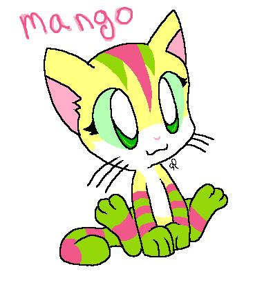 Mango Mango cutie by MimiTheFox