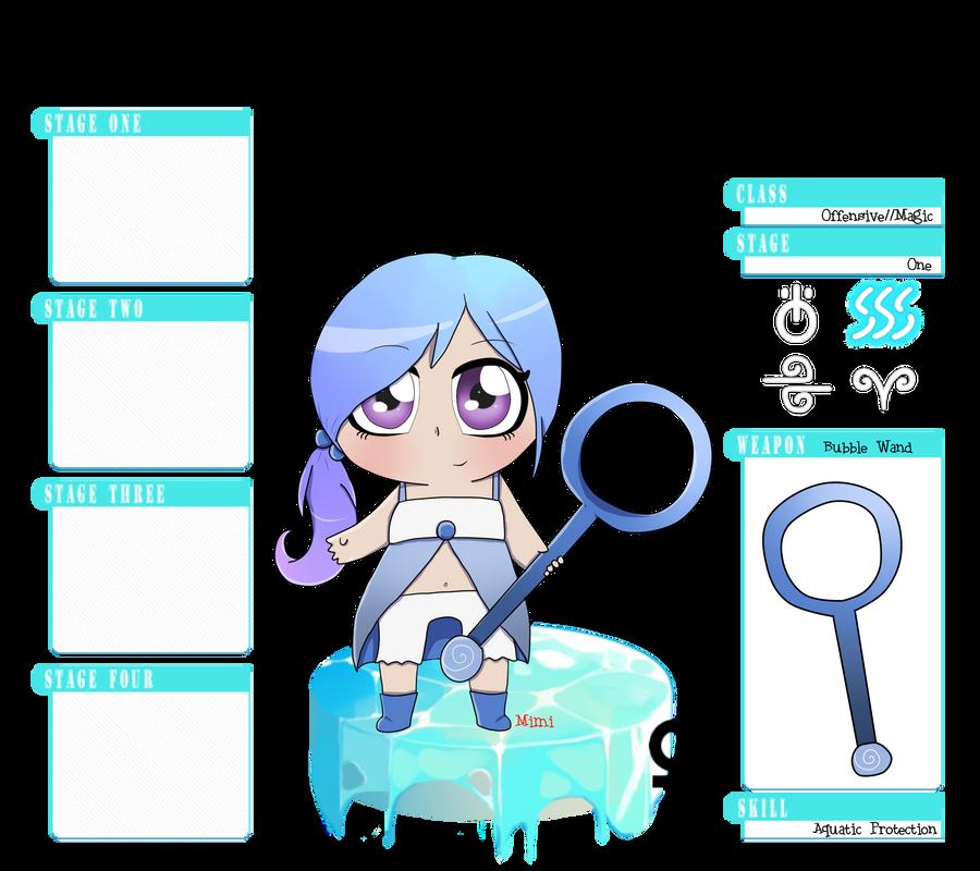 Minisprtis: Ushio by MimiTheFox
