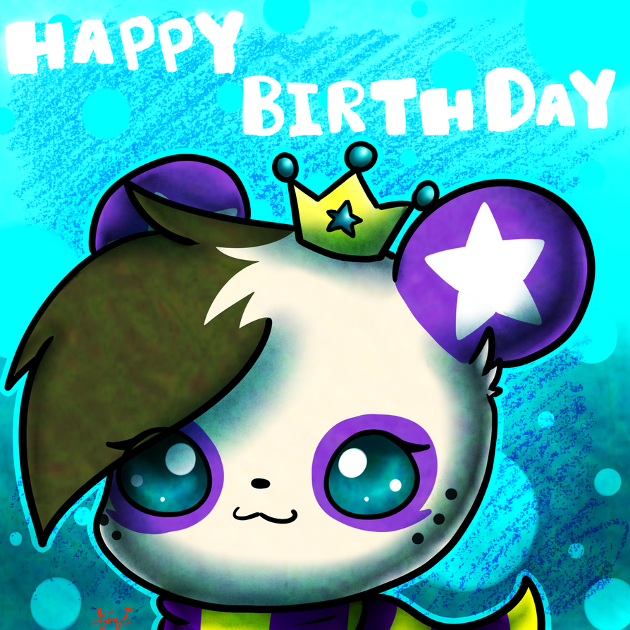 Happy Birthday by MimiTheFox