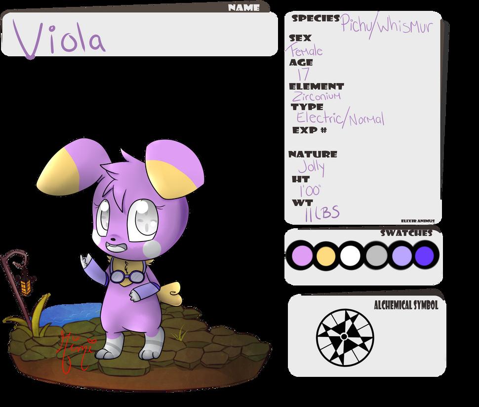 EA: Viola by MimiTheFox