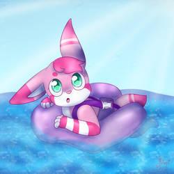 Baby Mimi Swim Time