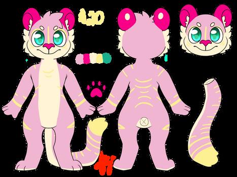 Pink Lemonade Tiger ADOPTABLE