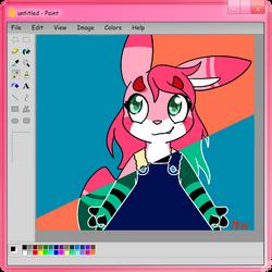 Ms Paint Style Mimi