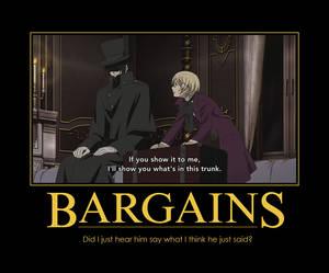 Bargains.