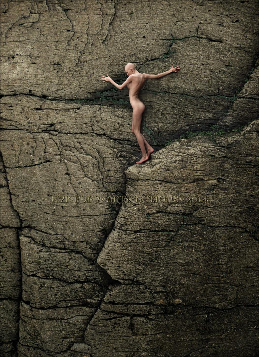 cliff by kannagara