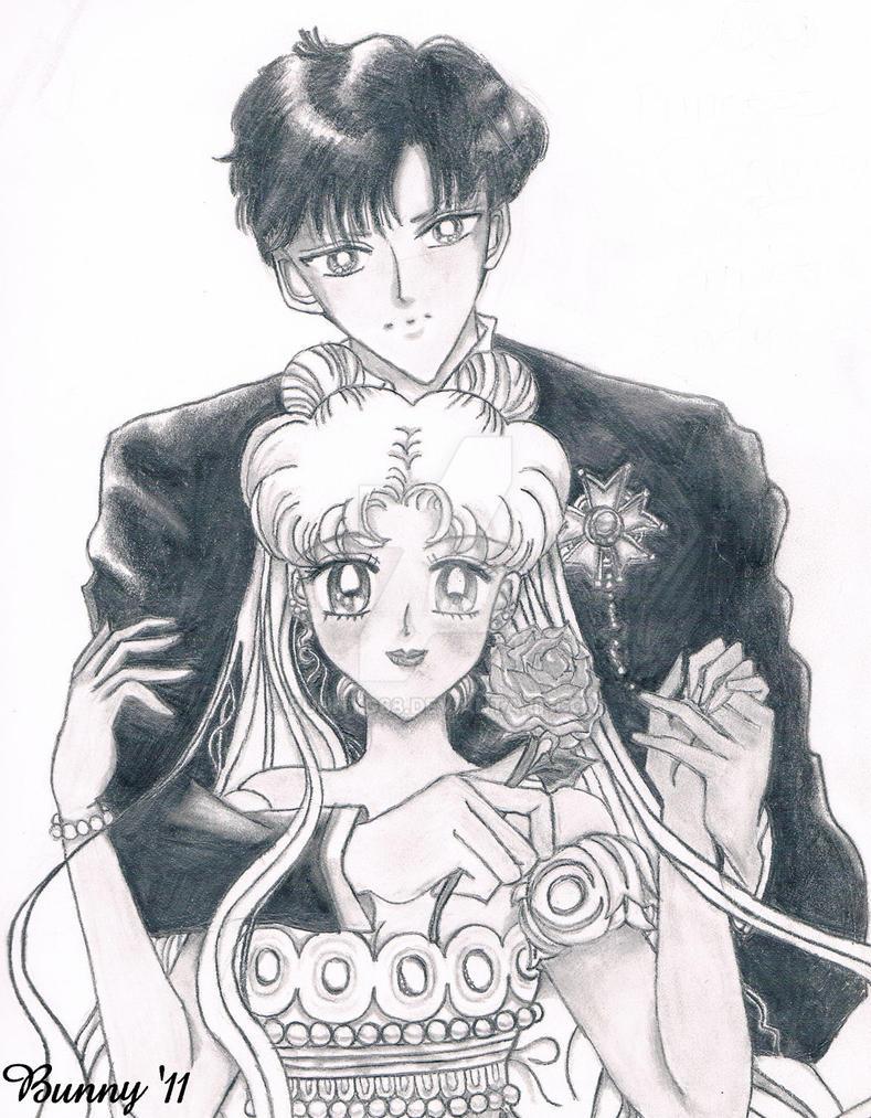 Manga Serenity and Endymion by BunnyG88