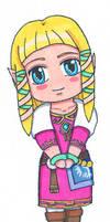 SD Chibi Zelda Skyward Sword