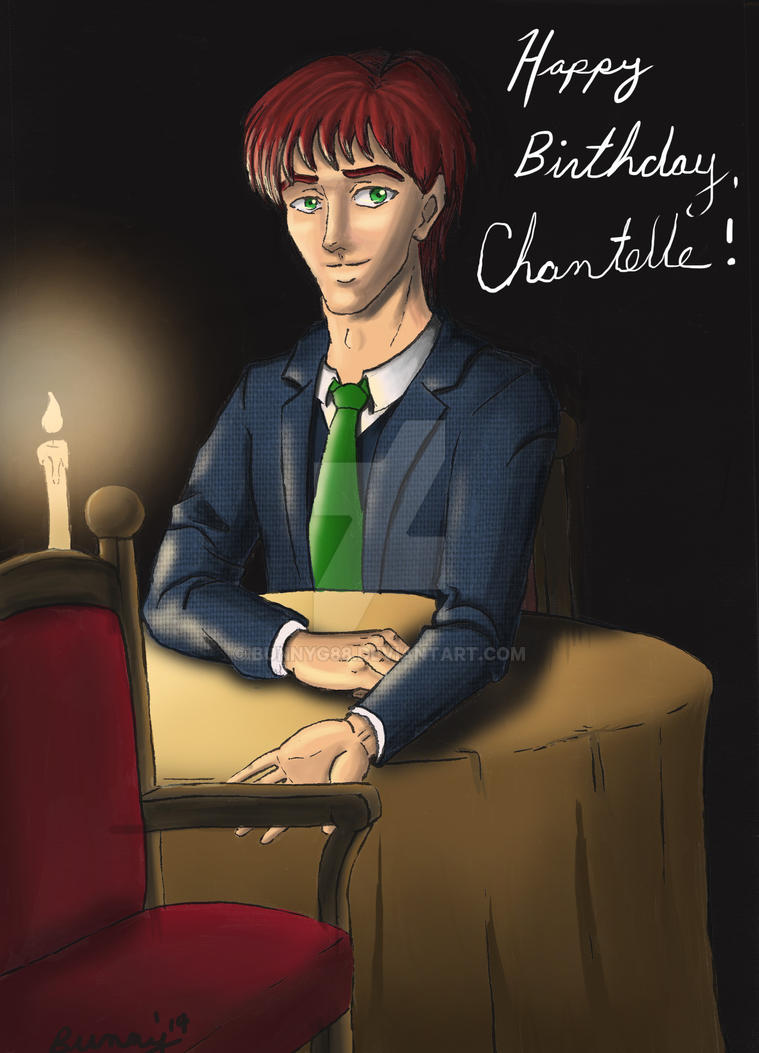 Happy Birthday, Chantelle! '14 by Rabbit-of-the-Moon