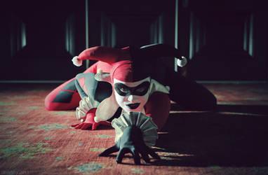Batman : Harley Quinn by beethy