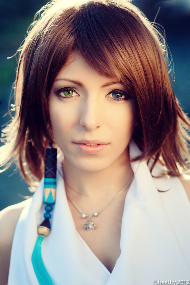 Final Fantasy X - Yuna by beethy