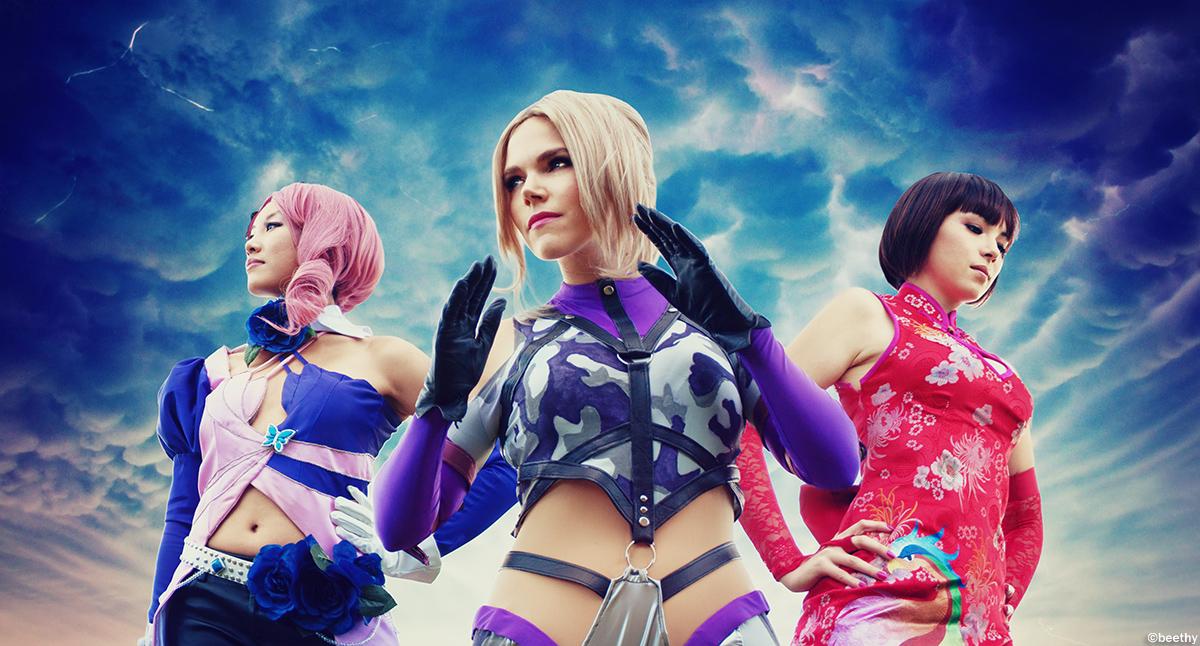 Tekken 6 - Alisa / Nina / Anna by beethy