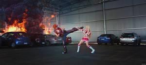 Tekken - Hwoarang vs Lili