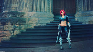 League of Legends - Katarina by beethy