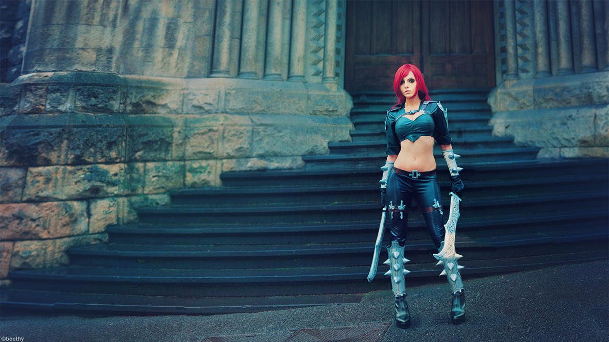 League of Legends - Katarina [ 1080p Wallpaper ] by beethy
