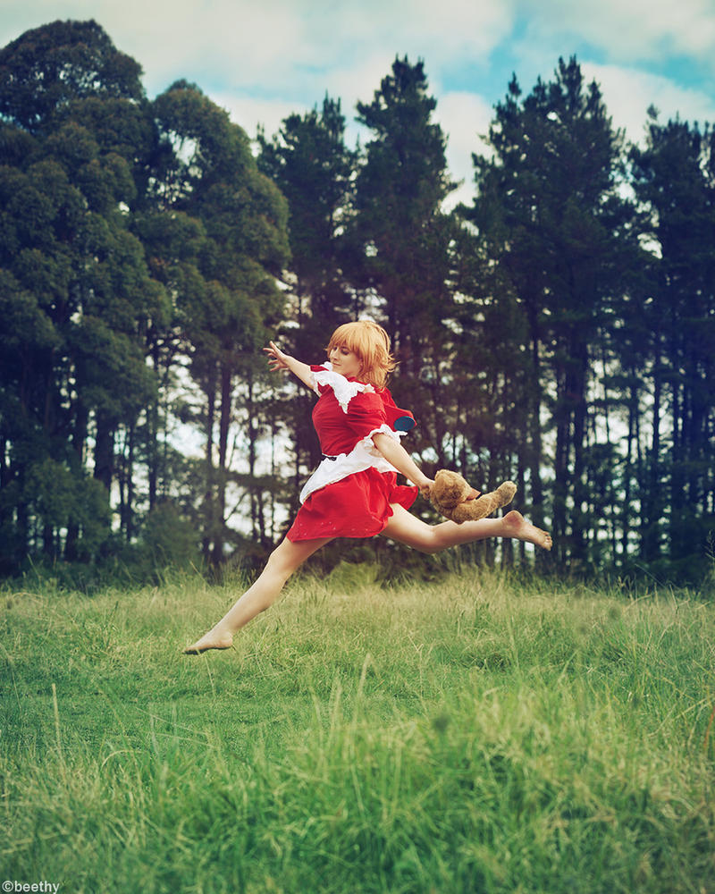 League of Legends - Annie ( Red Riding ) by beethy