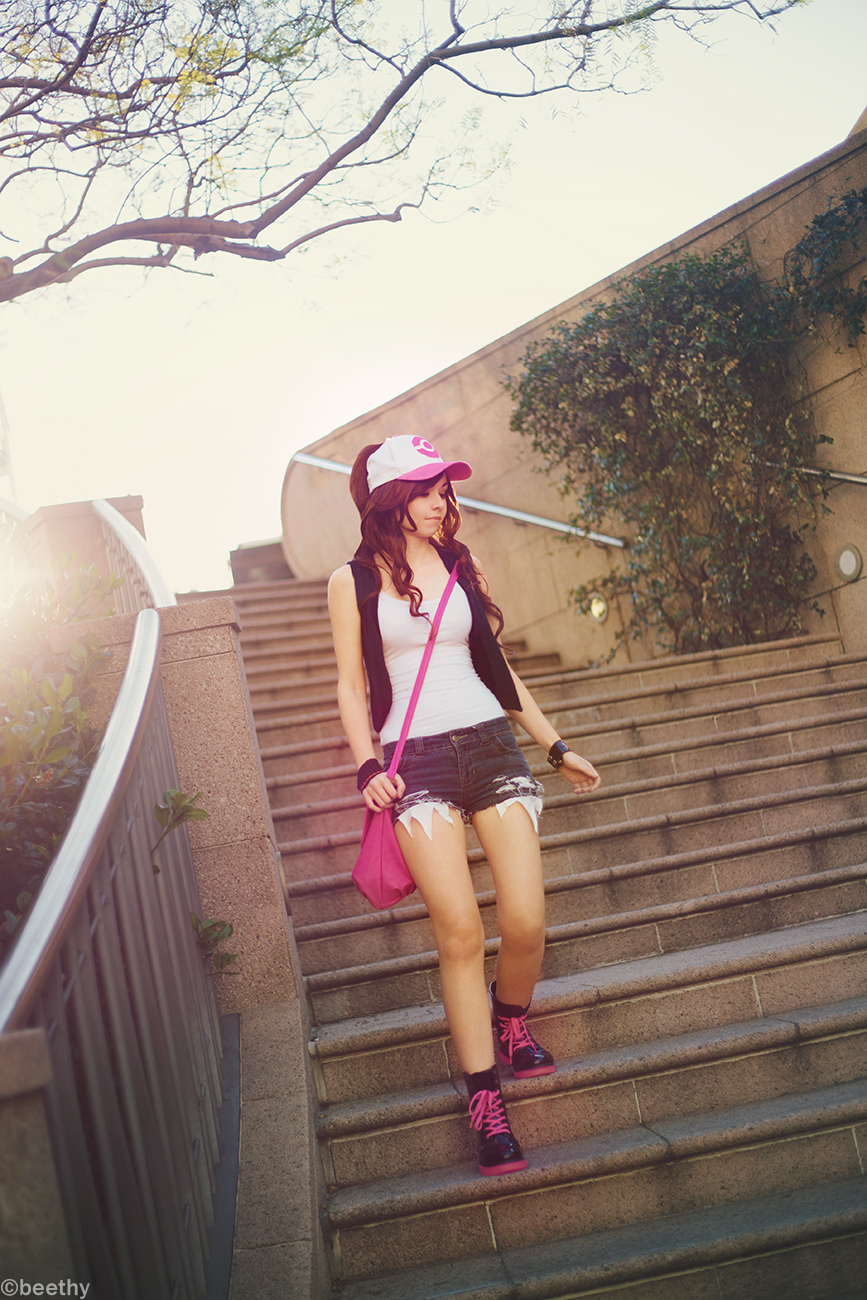 Pokemon Hilda / Touko [05] by beethy