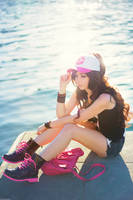 Pokemon Hilda / Touko [06] by beethy