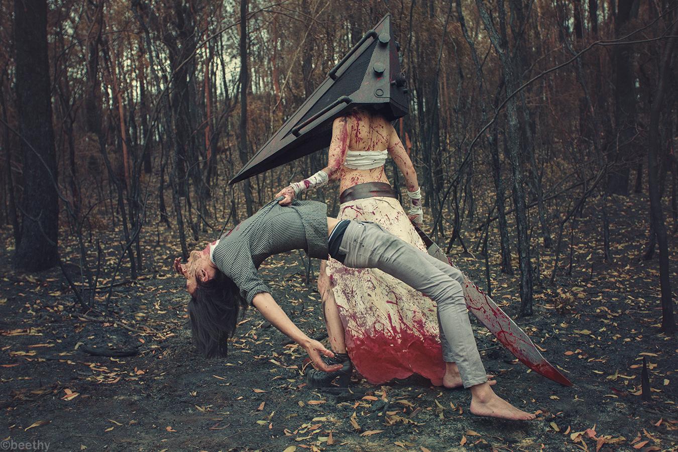 Silent Hill Pyramid Head 02 By Beethy On Deviantart