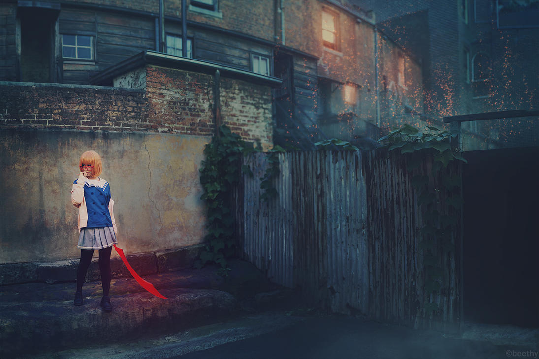 Beyond the Boundary - Mirai Kuriyama by beethy